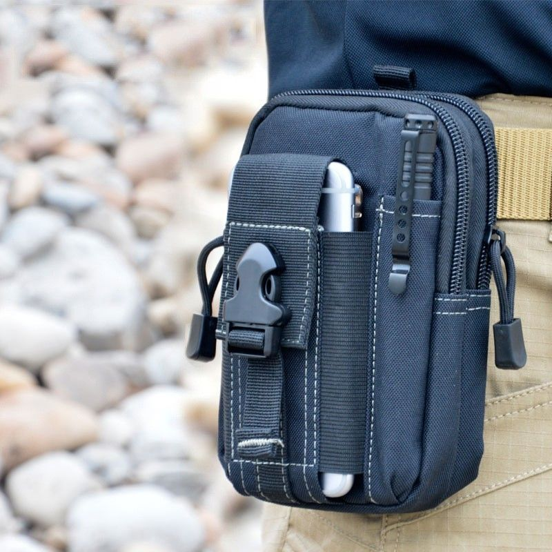 Universal multifunction Outdoor Camping Tactical Holster Military Molle Hip Waist Belt Bag Wallet Pouch Purse Cell Phone Case