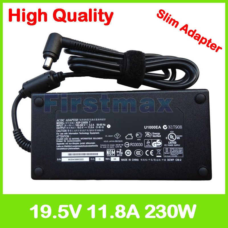 19.5V 11.8A 230W laptop charger ADP-230EB T ac adapter for MSI GE63VR GE73VR 7RF Raider GT72 2PE 6QE GT72S MS-1782 Dominator Pro