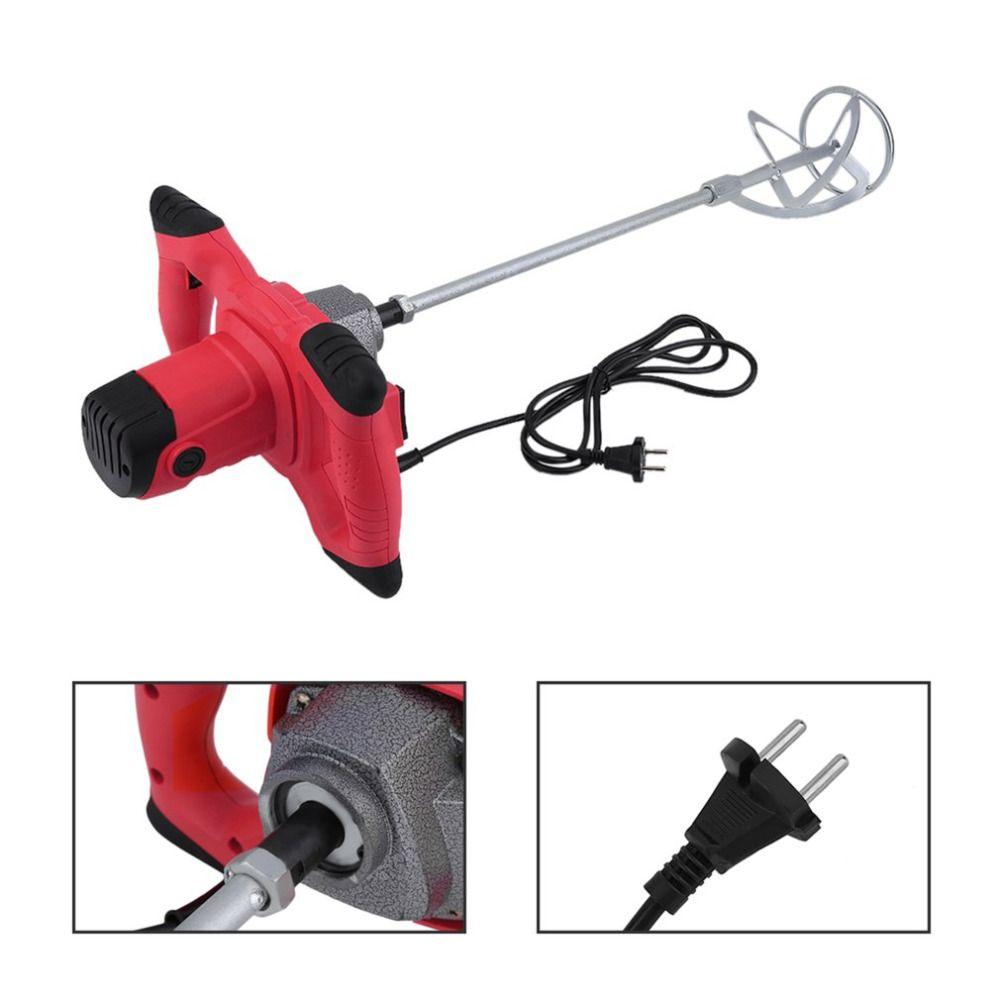 Car 2350w Industrial Mixer Aluminium Alloy Mixer Big Mixing Capacity Industrial Mixer Agitator Industrial Liquid Mixer