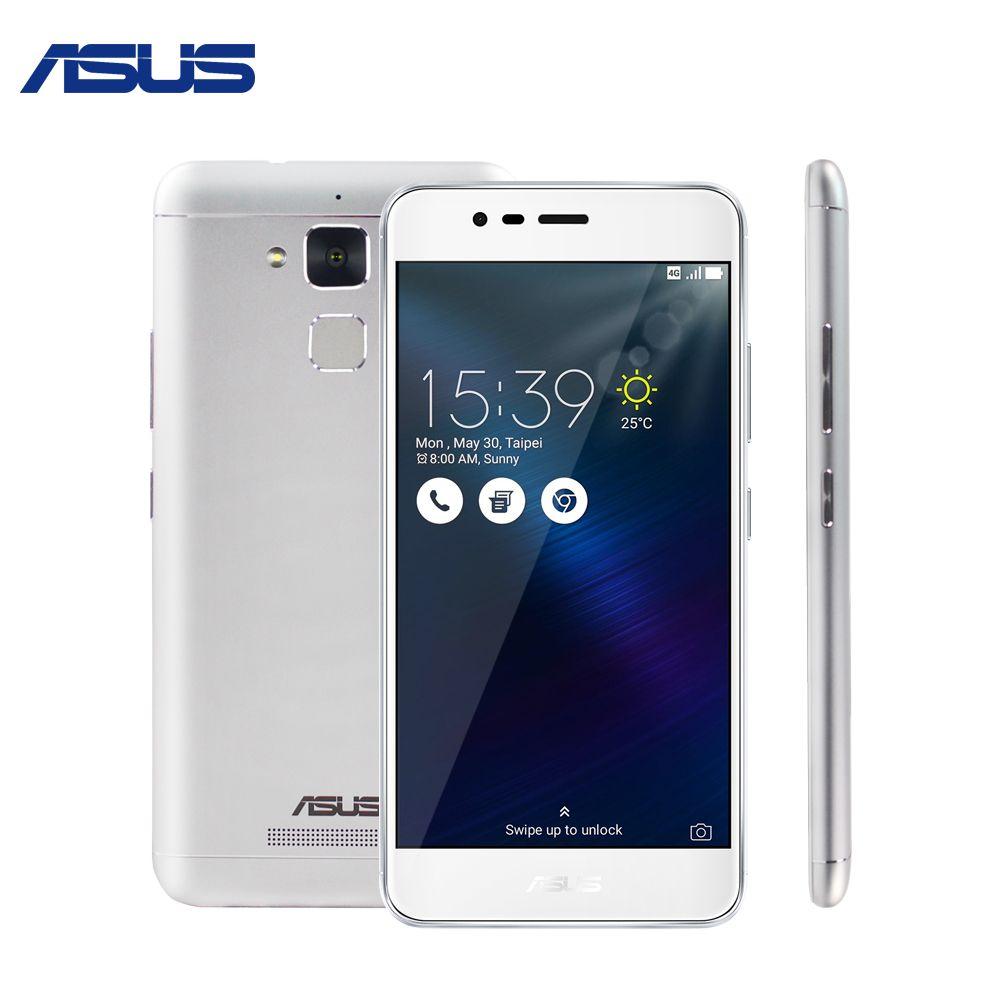 ASUS Zenfone 3 Max Smartphones ZC520TL 32GB ROM Quad Core Android 6.0 5.2 inch Fingerprint ID FDD 4100mAh Mobile Phones