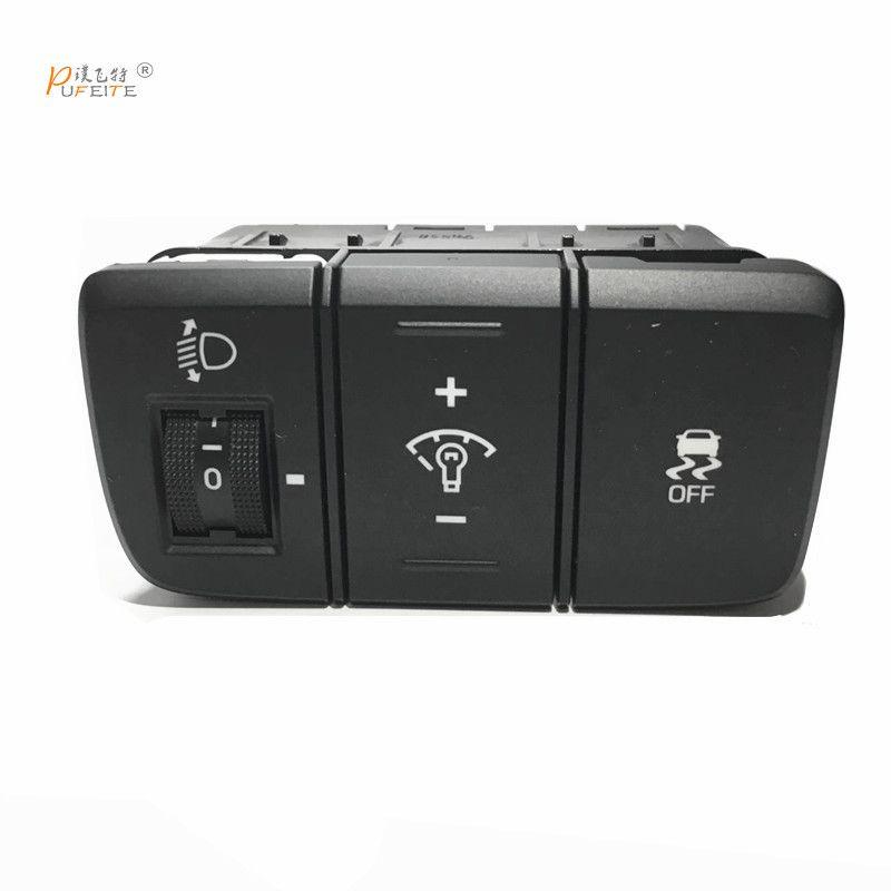 for hyundai ix25 creta  2017 dashboard brightness switch dashboard fog lamp headlamp adjustment brightness side slip OFF
