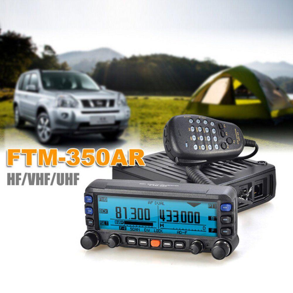 Général YAESU FTM-350R mobile émetteur-récepteur radio UHF/VHF Double bande Auto-Radio Station Professionnel Station FTM 350R Véhicule radio