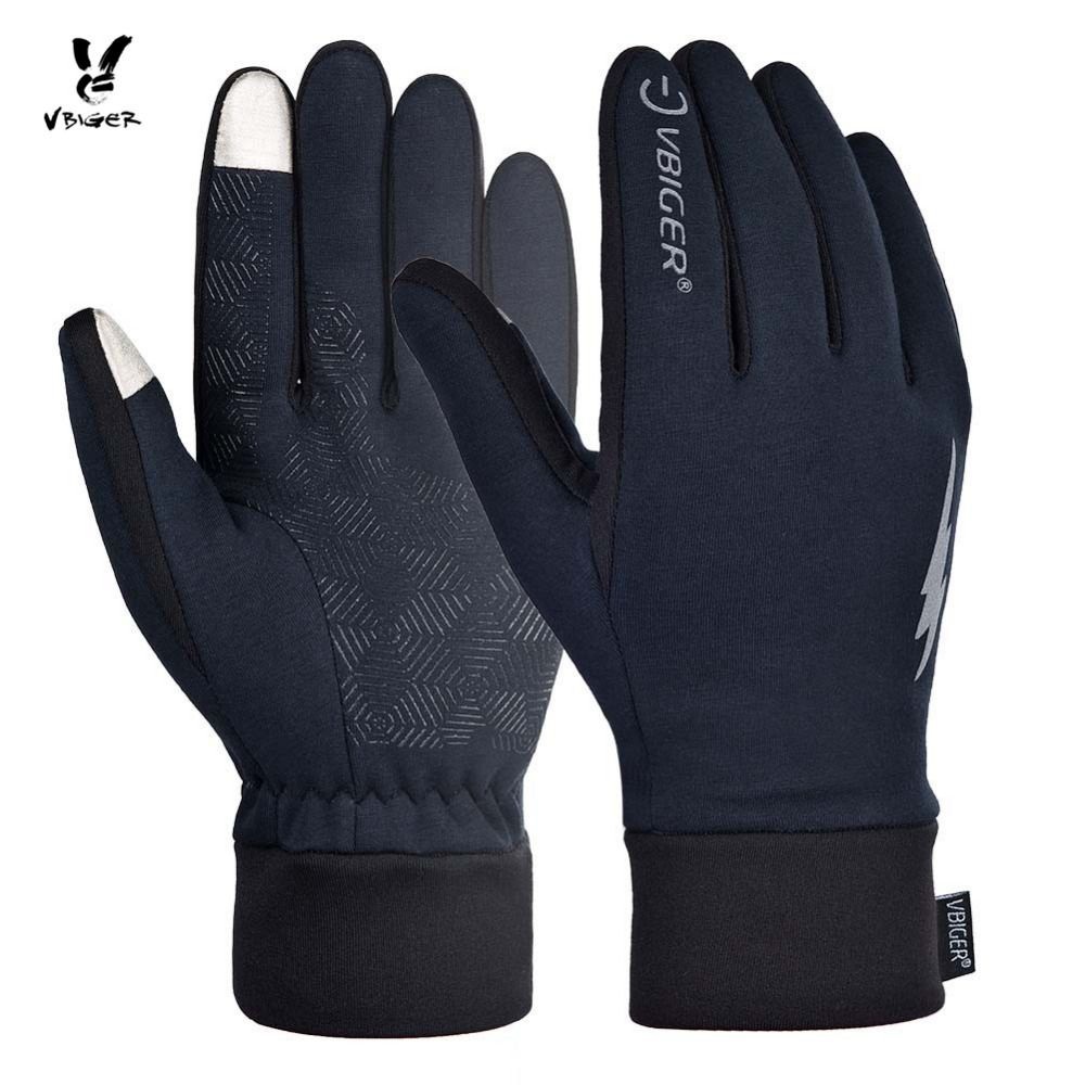 VBIGER Winter Gloves Professional Touch Screen Thicken Keep Warm Gloves Sport Gloves Running Biking Gloves for Men Women