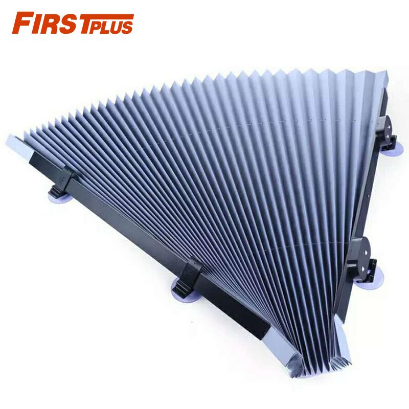 70x155cm Retractable Car Windshield Visor Shutter Type Window Sun Shade Blinds Windscreen Sun Shades Anti UV Sunshades