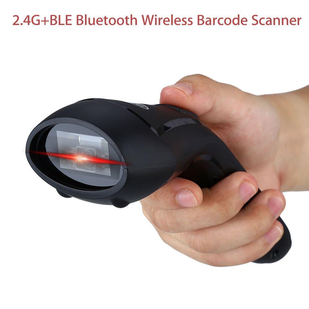 CILICO CT80 Handheld 2,4G + BLE Bluetooth Wireless 2D Barcode Scanner Bildschirm Scannen Mini USB Reader für Android/IOS/Windows