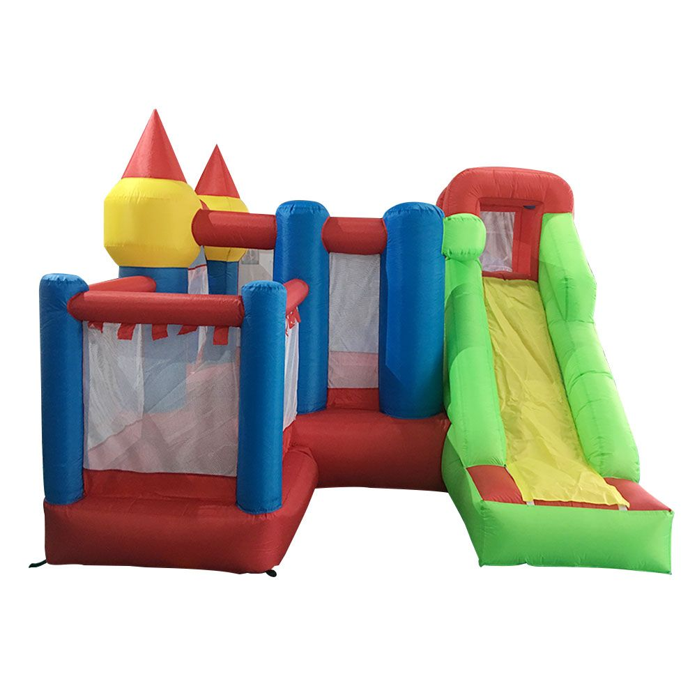YARD Inflatable House Inflatable Bouncy Castle Combo with Slide Ball Pit Home Use Park Inflatable Bounce