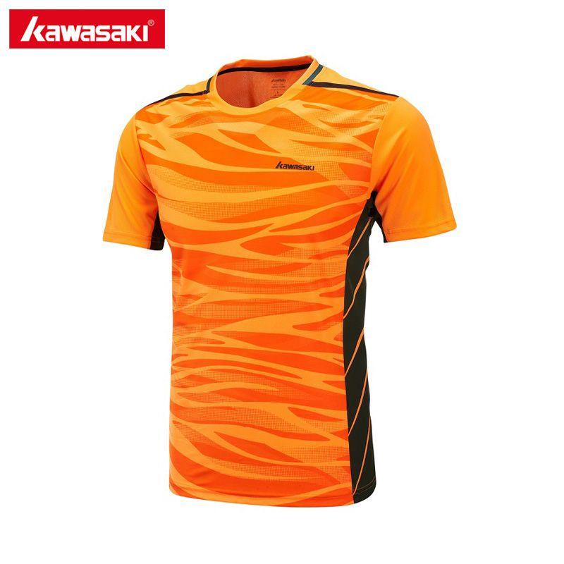 Kawasaki Tennis Shirts für Männer Sportswear Atmungsaktiven Komfort Badminton T-Shirt Sport Kleidung Kleidung ST-171022