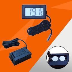 MUQGEW 1M 2M 3M mini digital thermometer indoor outdoor 1.5V battery digital thermometer with sensor probes