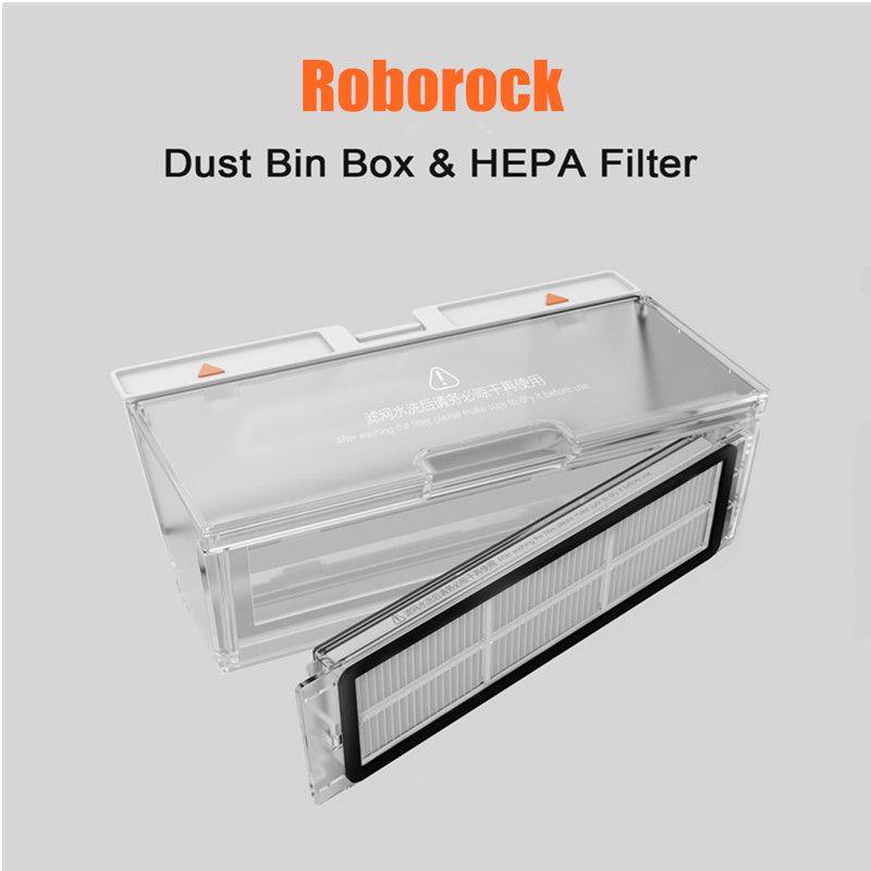 Original Roborock S50 Dust Box Parts Xiaomi Mi Robot Vacuum 2 Generation Roborock S50 Dust Box Parts for Roborock S55/S51