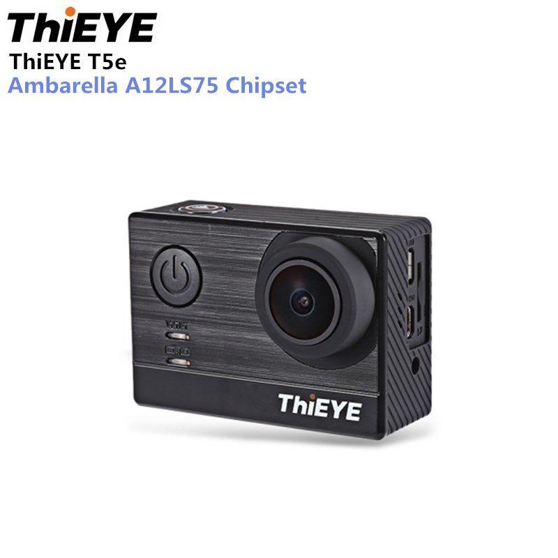 ThiEYE T5e Action Camera WiFi 4K 30fps 12MP 2 inch TFT LCD Screen 1080P Sports Ambarella A12LS75 Chipset IMX117 Sensor HD