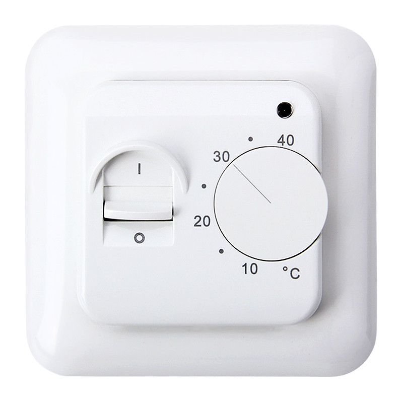 16A Universal Electronic Underfloor Heating Temperature Thermostat Regulator 5~40C Room Warm Temperature Controller 230V LED