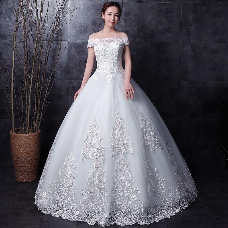 long half sleeve muslim lace wedding dress high quality 2016 bride simple bridal gown real photo wedding-dress vestido de noiva