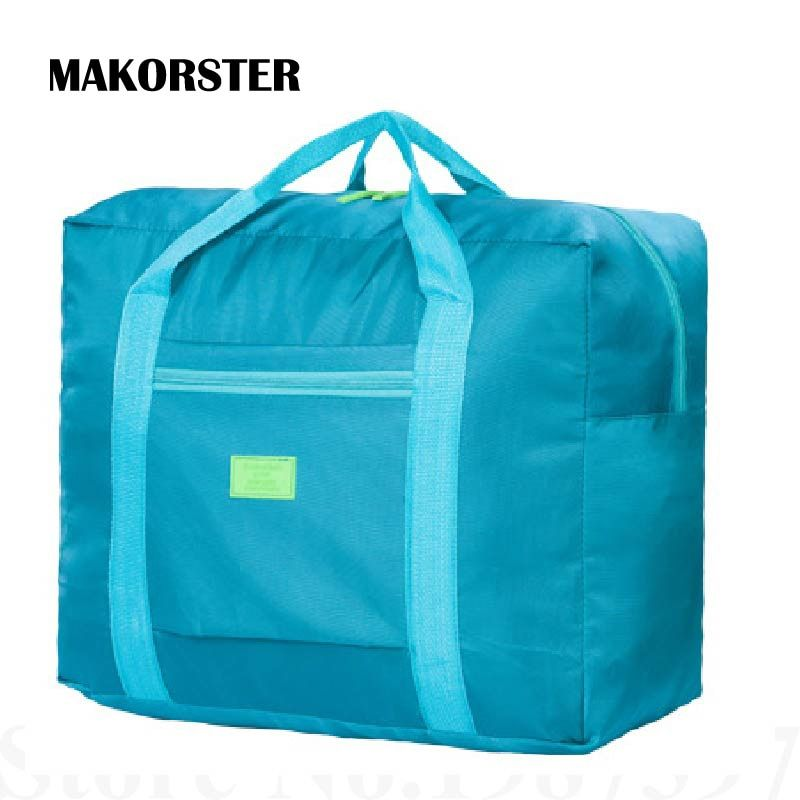MAKORSTER Travel Luggage Bag Big Size Folding Carry-on Duffle bag Foldable Pouch waterProof Women Travel Bags XH233