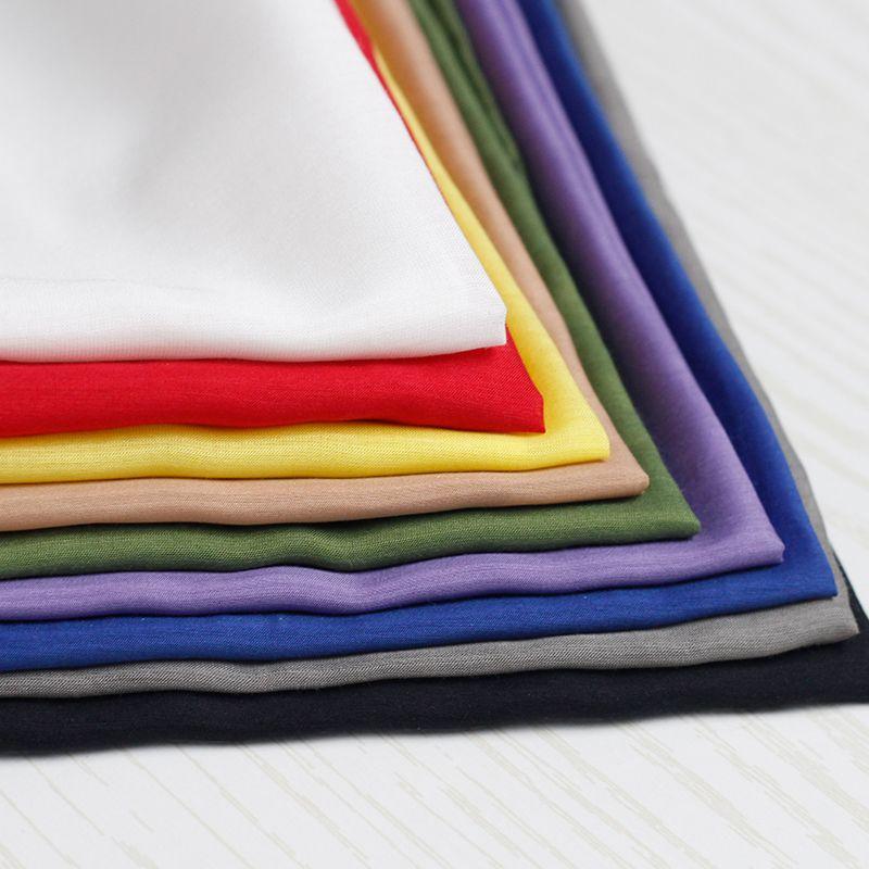 Pearlsilk qualité lisse soie/coton Tissu d'été robe doublure vêtement matériel DIY vêtements Tissus de soie/coton Livraison Gratuite