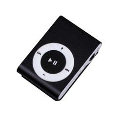 CARPRIE Metal Mini  MP3 Music Player Support 32GB Micro SD TF Card Mini Clip 3.5mm Jack Nice Sound Best Gift