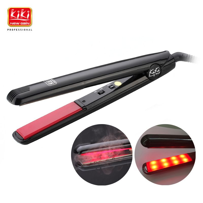 KIKI NEWGAIN Ultrasonic & Infrared Hair Care Iron personal care appliances Hair Treament Styler Cold Iron Hair Care Treatment