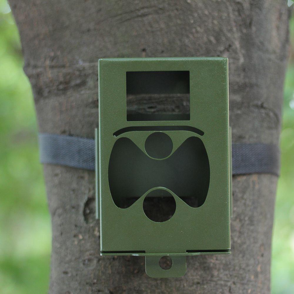 HC300 серии Охота Камера защиты безопасности металлический корпус железный замок Коробка для hc300m HC300 hc300g Бесплатная доставка