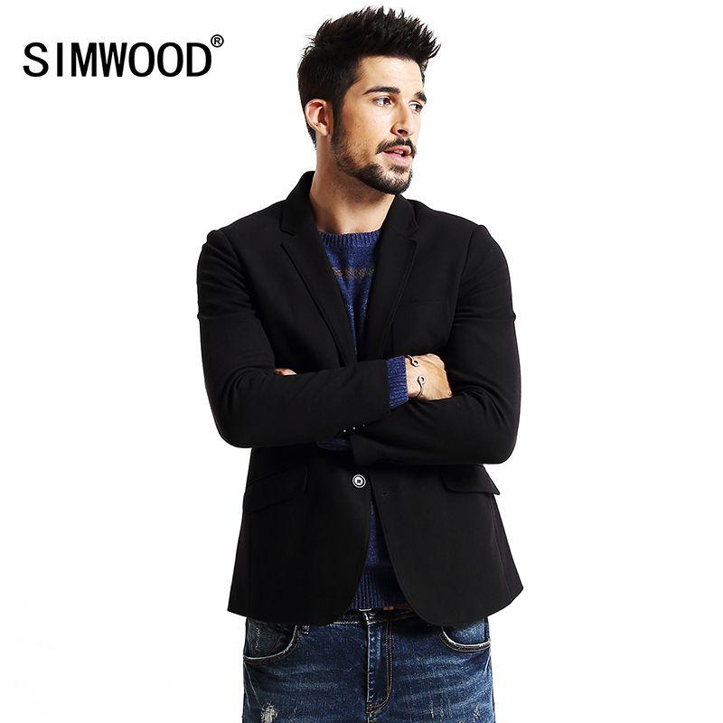 SIMWOOD 2018 Neue Winter Casual blazer Herrenmode Anzüge Männer Parkas Slim Fit Hohe qualität Marke Kleidung XZ6100