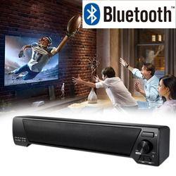 Hot TV SoundBar Home Theater Soundbar Wireless Bluetooth Speaker Portable Sound Bar Music Player Support FM Radio TF Card U disk
