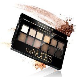 Матовые тени для век макияж набор Nudes Naked Pallete тени для век Палитра Косметический макияж набор телесные тени для век 12 цветов