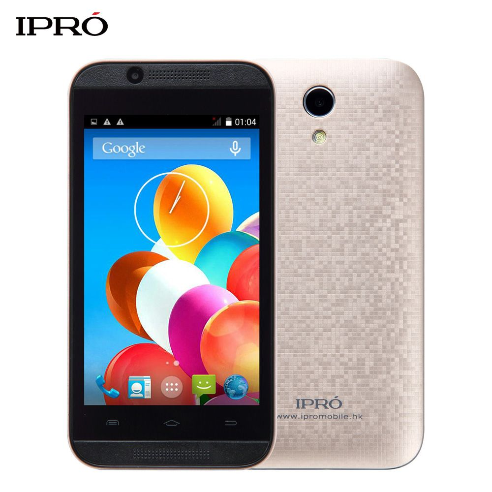 Free Case+Film Original IPRO Wave 4.0 Inch Android Mobile Phone 512MB+4GB Unlocked Smartphone 1250mAh Cellphone Global Version