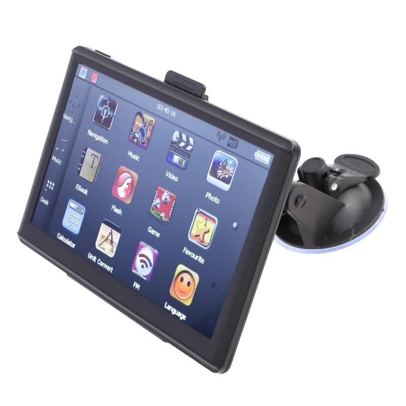 VODOOL Car Gps Navigation Portable Navigatie 7 inch Europa LCD Touch Screen Mp4 Player DVR with EU Map FM/8GB GPS Navigator