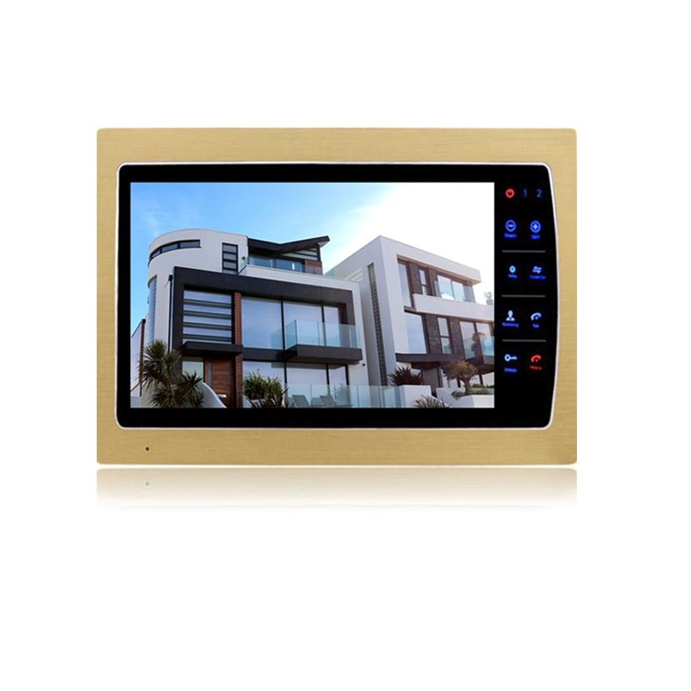 Homefong 10'' Video intercom Indoor Monitor SD Card Recording & Picture Memory Touch Key