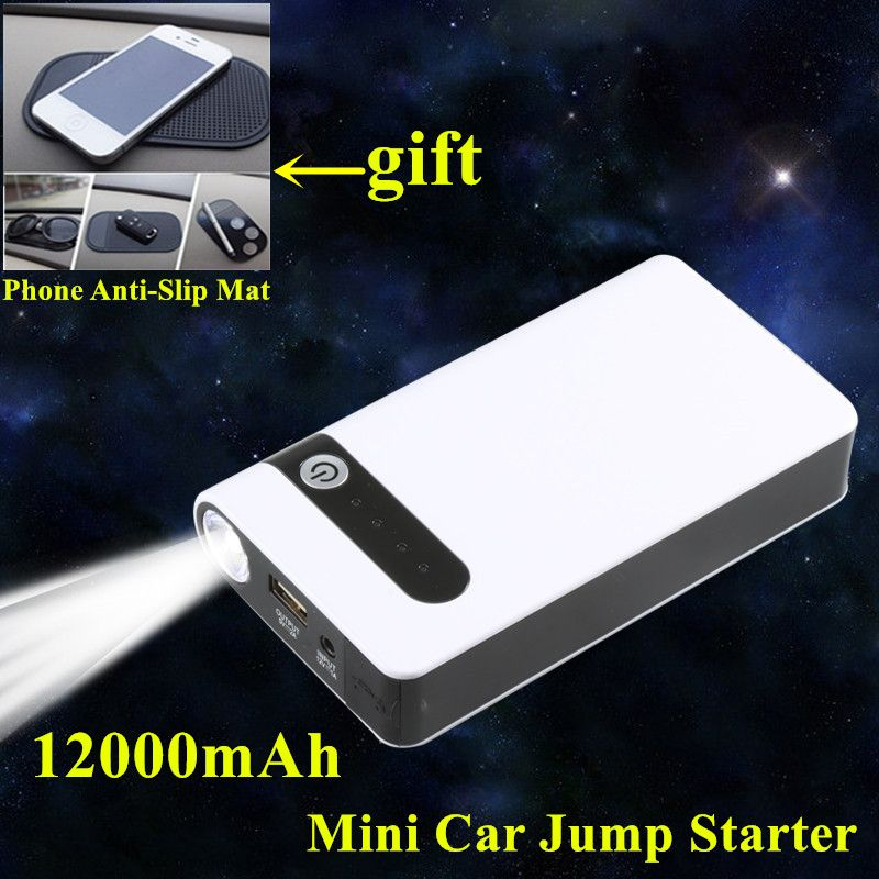 Starting Device Petrol Diesel 12000mAh Car Jump Starter Power Bank Mobile Car-Styling 400A Car Charger For Car Battery Buster CE