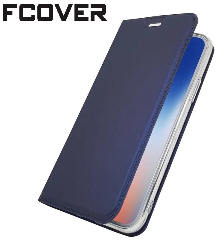 Luxe style Book Étui En Cuir Pour Apple iphone X iphone 10 Magnétique Portefeuille Étui de protection Flip Cover