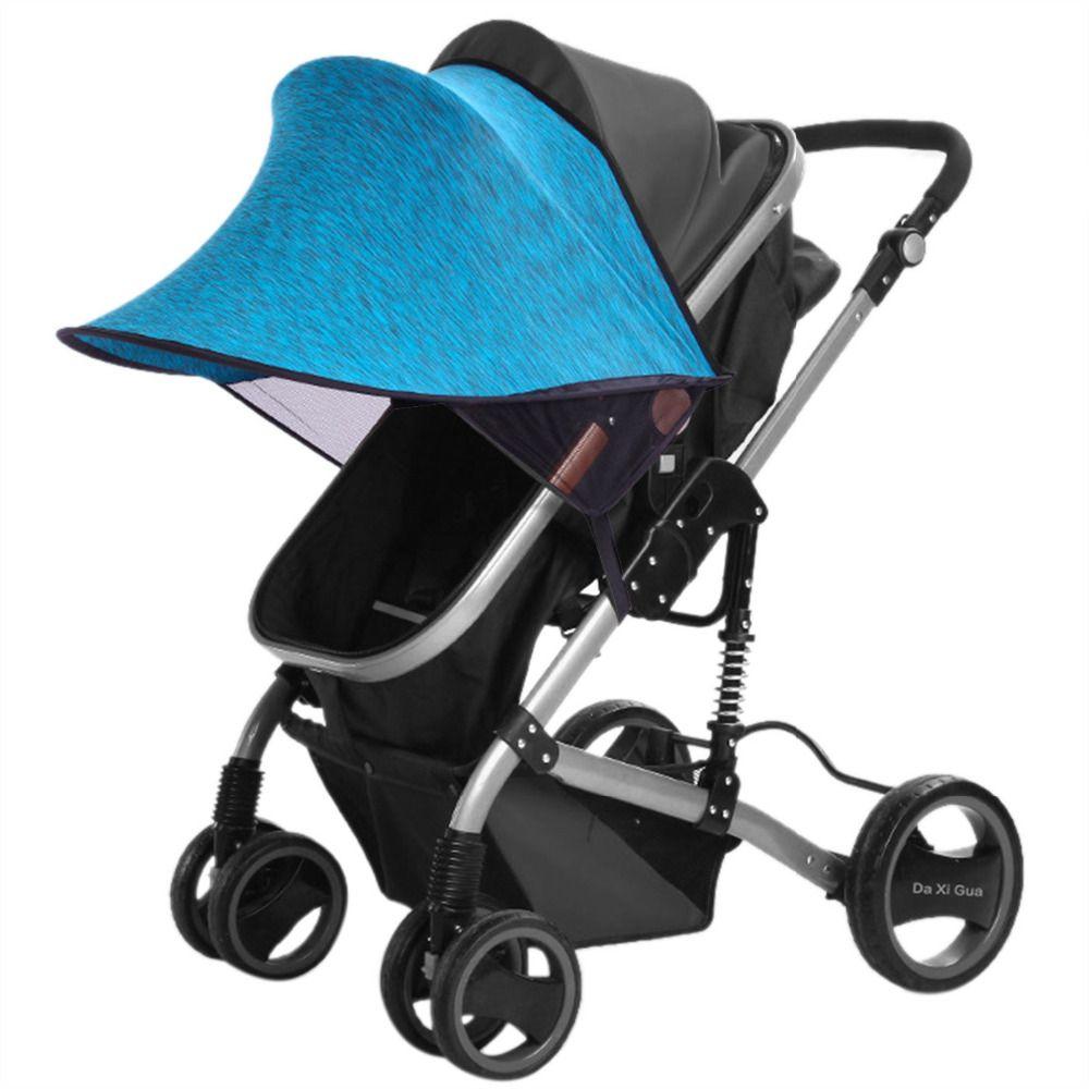 New Baby Stroller Sunshade Rag Shade Blocks 99% UV UVB Sun Rays Cover Baby Car Awning Rain Tent Buggy Pushchair Pram accessories