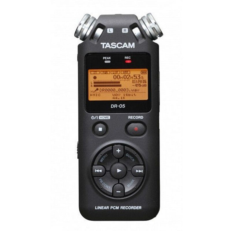 TASCAM dr-05 Portable Digital Voice Recorder audio recorder MP3 Recording Pen Version 2 with 4GB micro SD E1-002
