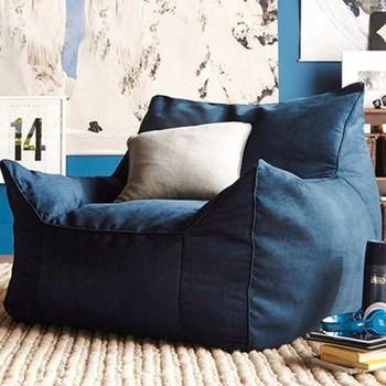 كيس فول المتسكع أريكة الكراسي مقعد غرفة المعيشة الأثاث دون ملء كسول مقعد زاك أكياس القماش Levmoon كيس القماش كرسي شل