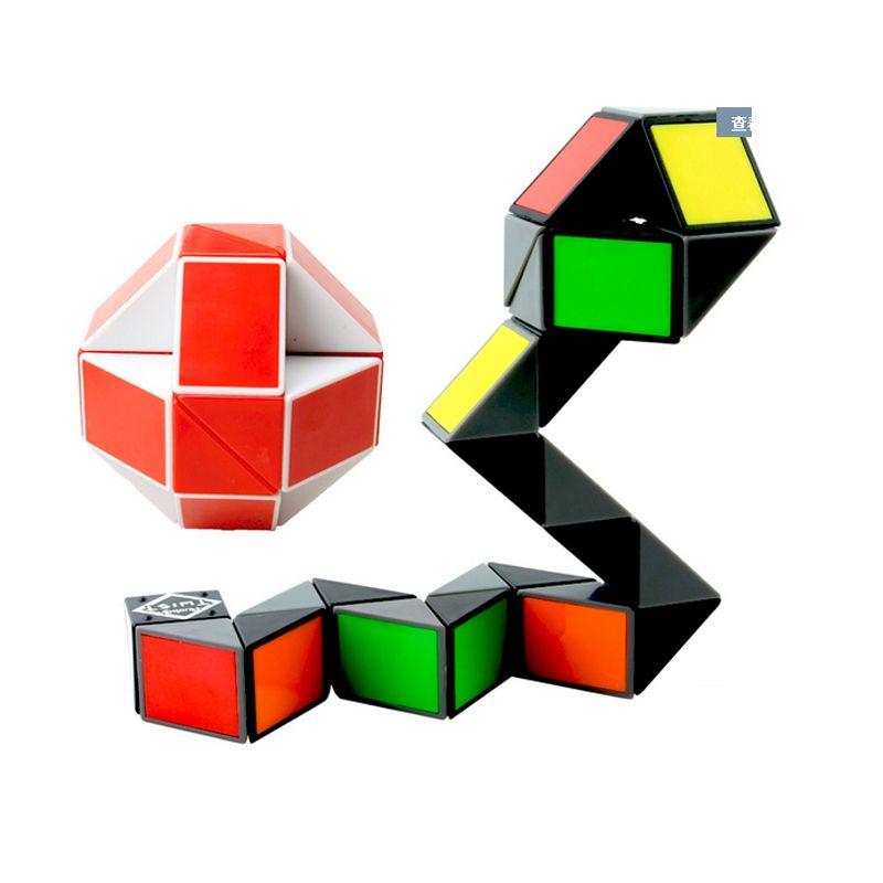 Профессиональный Скорость Magic Cube Puzzle Правитель Твист 24 36 48 72 Конструкторы образования Мозг Игрушечные лошадки для детей Магия Линейка блок