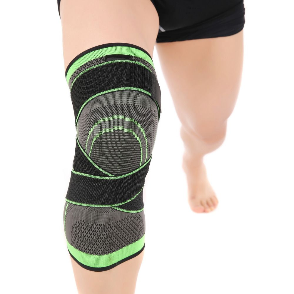 Professional Protective Sports Knee Pad Basketball Tennis Hiking Cycling Knee Support Breathable Bandage Knee Sleeve Pads Brace