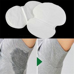 30/50pcs Disposable Absorbing Underarm Sweat Guard Pads Deodorant Armpit Sheet Dress Clothing Shield Sweat Perspiration Pads