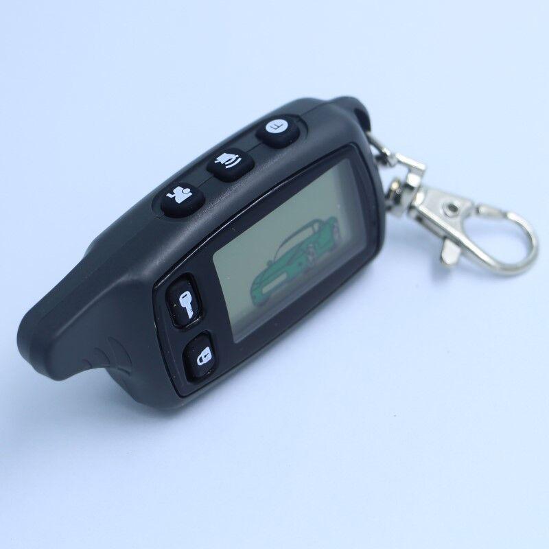 ЖК-дисплей пульт дистанционного управления для TOMAHAWK TW9010 Томагавк 9010 Двухстороннее автосигнализации русская Tomahawk tw 9010 брелок