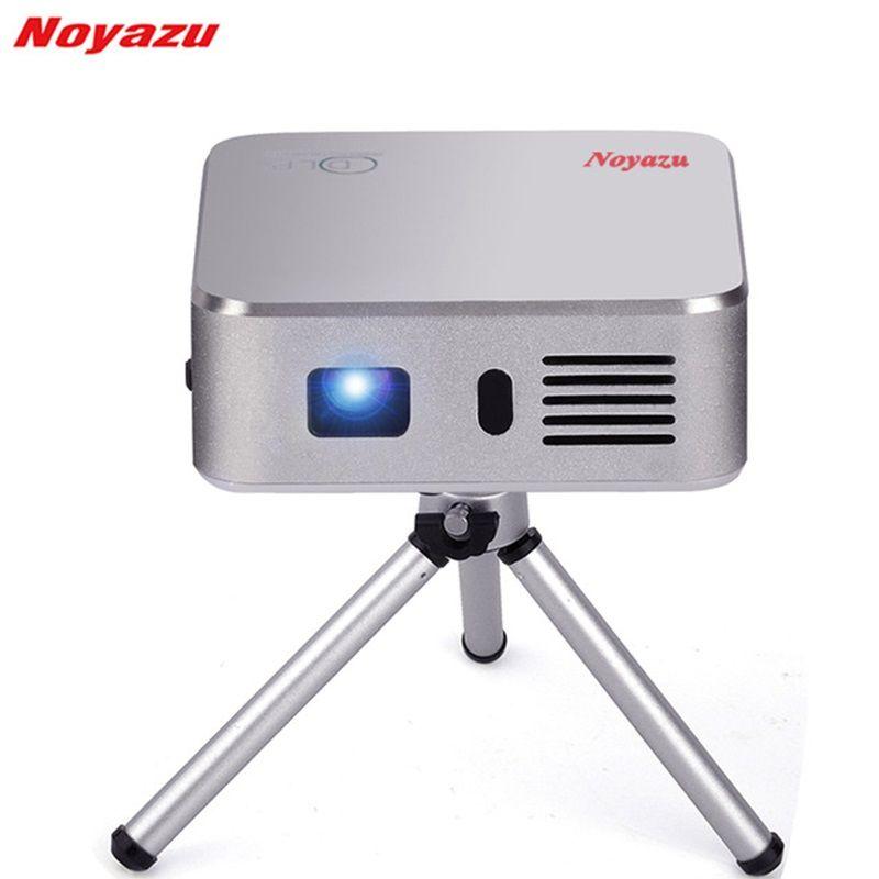 Noyazu E05 Tragbare Mini FÜHRTE Projektor Wifi Smart DLP Pico Projektor mit HDMI/USB Drahtlose Steuerung für Zuhause Outdoor reise