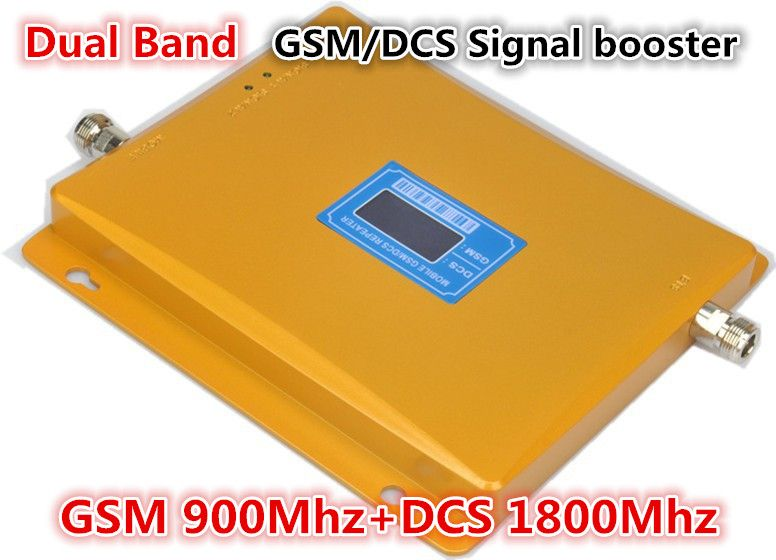 LCD Display 900/1800 mhz GSM DCS dual-band-handy-signal-verstärker booster GSM repeater 900 MHz DCS 1800 MHz verstärker GSM signalverstärker