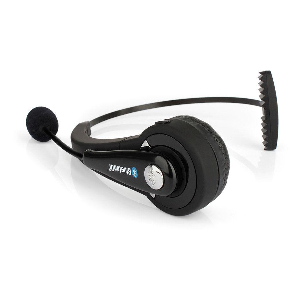 BTH068 Mono Sans Fil Bluetooth Casque Casque Antibruit avec Mic Mains Libres pour PC PS3 Jeu Mobile Téléphone Portable