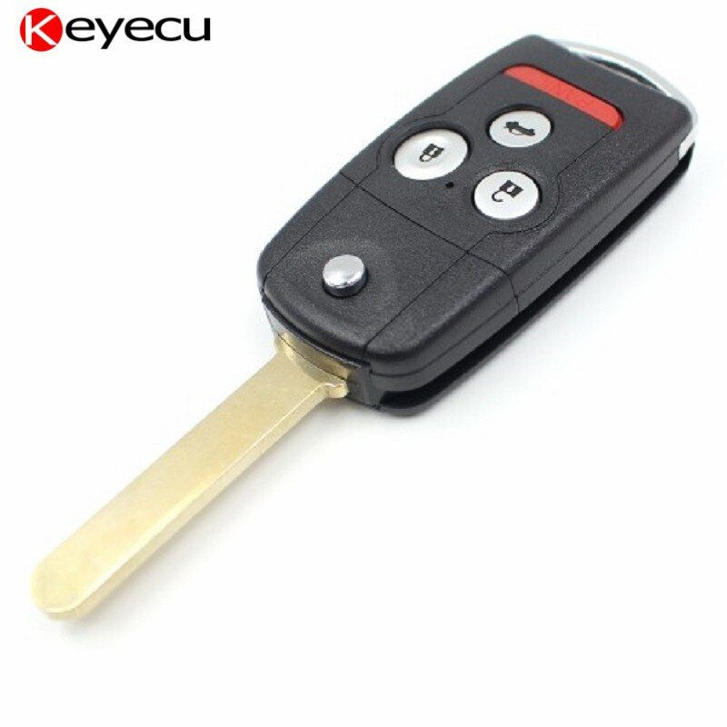Keyecu Remote Key Fob 4 Button 313.8MHz ID46 Chip for Acura MDX RDX 2007-2012 FCC ID:N5F0602A1A