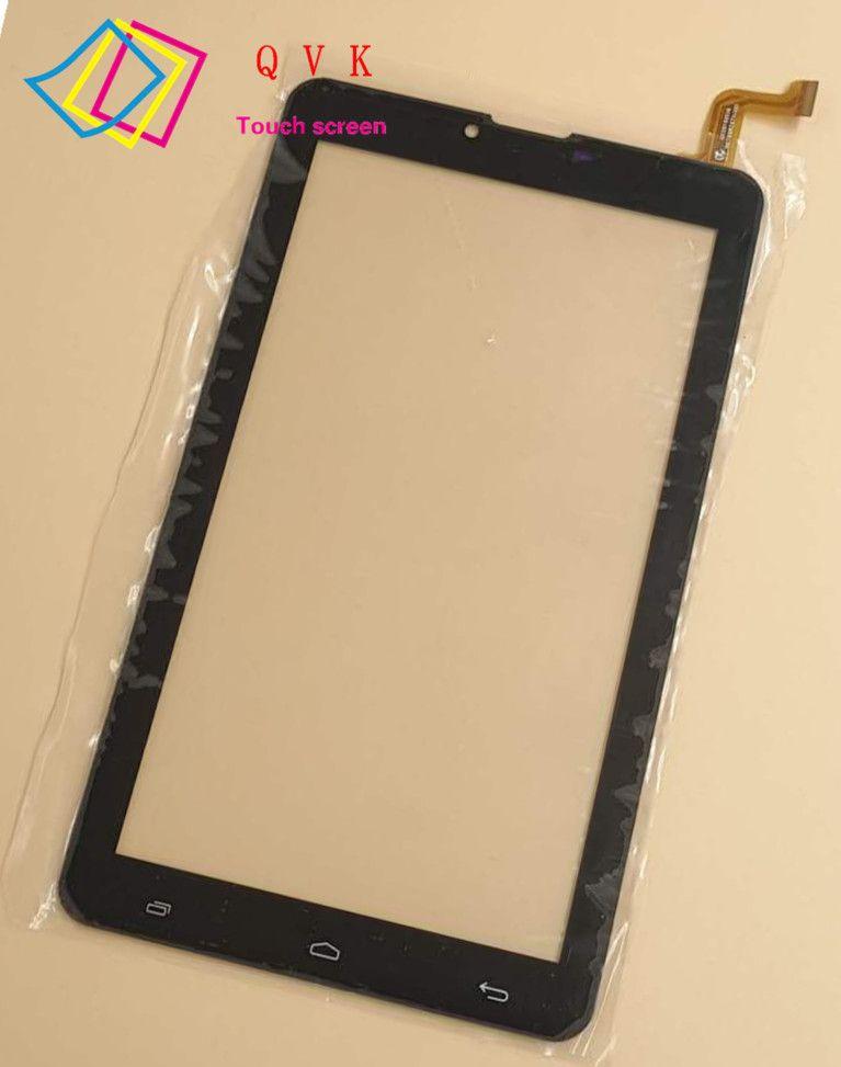BALCK 7inch For MEGAFON LOGIN 4 LTE (MFLogin4) Login 4g+ tablet pc HK70DR2671-V02 capacitive touch screen glass digitizer panel