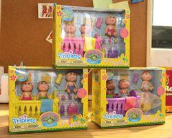 Kawaii Mini Mainan Mandi Kubis Bermain Rumah Action Figure Patch Kids Boneka Anak-anak TK Bayi Boneka Gld1 DIY Girl Mainan di Kotak