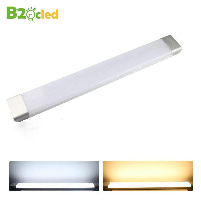 Led propre tube néon 0.6 m 26 W AC 110 V 220 V 85-265 V SMD2835 lampe à led lampe de purification intérieur accueil Antipoussière anti-buée barre lumineuse led