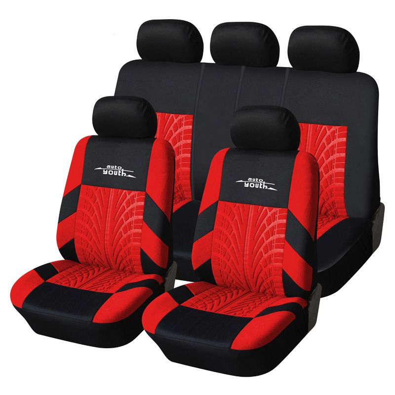 AUTOYOUTH Automobiles Seat Covers Universal Full Car Seat Cover Interior Accessories Seat Decoration Protector Cover Car-Styling