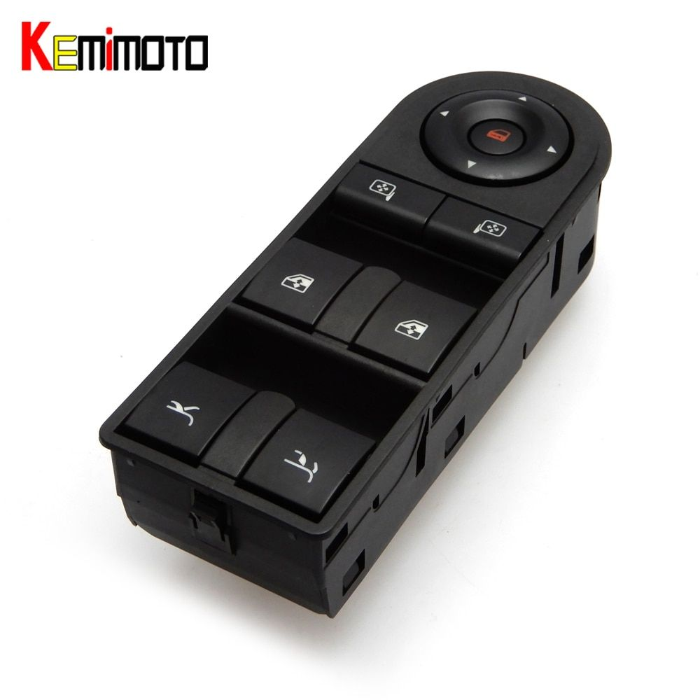 KEMMOTO Power Window Switch for vauxhall for Opel Tigra Twintop 2004-2016 93162636