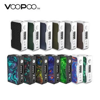 Original 157W VOOPOO DRAG TC Box MOD with Max 157W Output & Fastest Fire Speed E-cig Vape DRAG Mod No 18650 Battery Mod vape mod