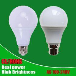 Atacado Lâmpadas Led SMD2835 E27 B22 3 W 5 W 7 W 9 W 12 W 15 W 18 W lâmpadas LED 110 V 220 V 240 V Lâmpadas de Luz Lâmpada Para Casa Levou Holofotes