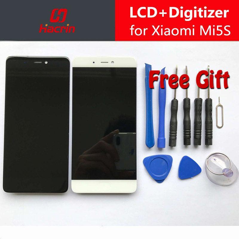 Pour Xiaomi Mi5S LCD display + Écran Tactile Digitizer Assemblée Remplacement Premium pour Xiaomi Mi 5S 5.15 pouce