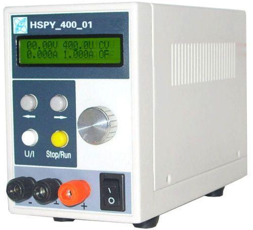 Adjustable programmable DC Power Supply 400V/1A 220V