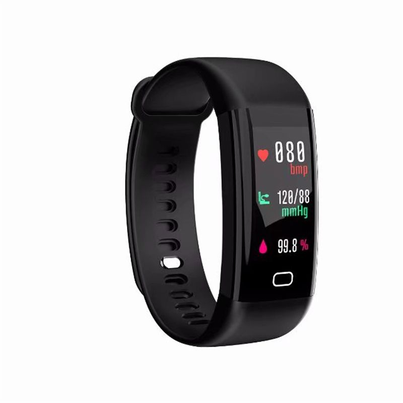 Newest F07 Bluetooth Smart Band OLED Color Screen Bracelet IP68 Waterproof Swimming Heart Rate Blood pressure monitor Smartband